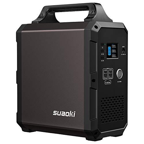 suaoki ポータブル電源 G1200 332000mAh/1200Wh AC1000W(瞬間最大2000W) 非常用電源 家庭用蓄電池 超大容量 純正弦波 LCD大画面表示 2WA