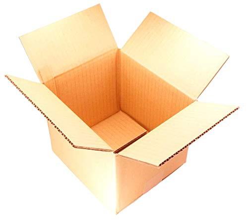 【 日本製 】 ダンボール (段ボール箱) 宅配便 60サイズ 【20枚セット】 引越し 梱包 収納 箱 (20.51918cm) dA2-20