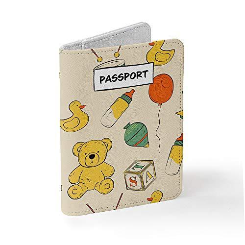 Tick Pickパスポートケース スキミング防止 - SIMカード取り外しツール付属 - おしゃれとかわいいデザイン