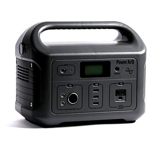 SmartTap ポータブル電源 PowerArQ チャコール (626Wh/174 000mAh/3.6V/正弦波 100V 日本仕様) 正規保証2年 008601C-JPN-FS-CH 008601C-