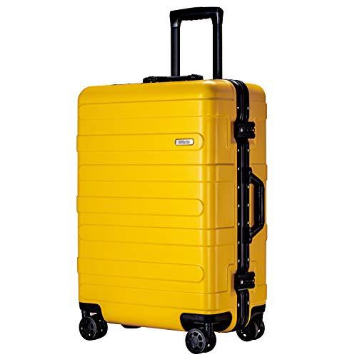 (ヴィヴィシティ)VIVIcity スーツケース アルミフレーム キャリーケース 機内持込可 大型 軽量 TSAロック 安心の1年保証 防塵カバー付き