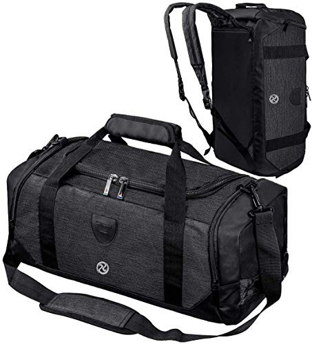 スポーツバッグ メンズ ダッフルバッグ メンズ ボストンバッグ ジムバック リュック型可能 3way 旅行バッグ シューズ収納 大容量 防水