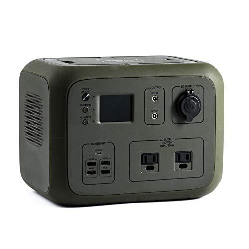 ポータブル電源 PowerArQ2 オリーブドラブ (500Wh/45 000mAh/11.1V/正弦波 100V 日本仕様 蓄電池) 正規保証2年