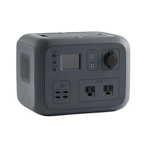 ポータブル電源 PowerArQ2 チャコール (500Wh/45 000mAh/11.1V/正弦波 100V 日本仕様) 正規保証2年 AC50-CH AC50-CH
