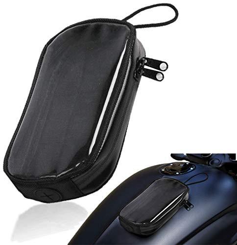 [Isdy] バイク タンク バッグ スマホ ホルダー マグネット バック バイク用 防水 ケース カバー バイク用品 (大)