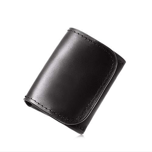 [Le sourire] 極小 小銭入れ ビジネスマンの小さな本革 コインケース コンパクトで使いやすい メンズ