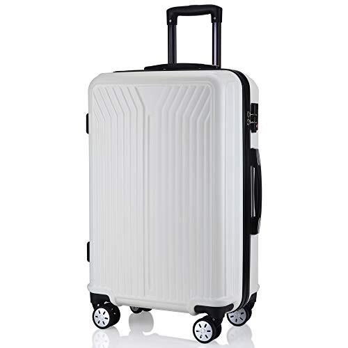 レーズ(Reezu) スーツケース ファスナー式 軽量 キャリーケース ジッパー 耐圧擦り傷防止 キャリーケース 機内持込 キャリーバッグ S M