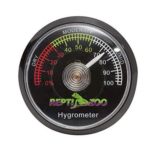 REPTI ZOO デジタル湿度計 爬虫類用 両生類用 ペット飼育用 乾燥対策 熱中症対策 小型 バッテリ不要
