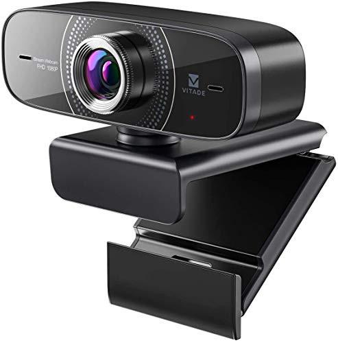 webカメラ 1080P HD ウェブカメラ Vitade 826M USB給電 Web カメラ ビデオカム マイク付き ストリーミング ゲーム スカイプ/skype 会議