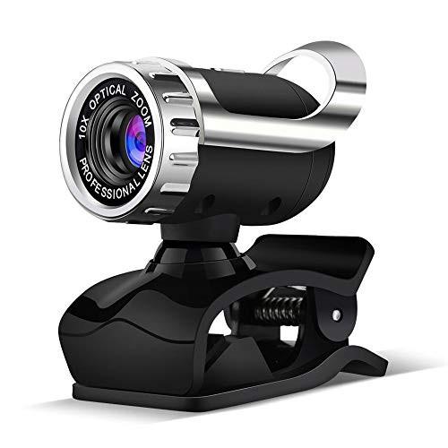 ウェブカメラ 1080P HD高画質 pcカメラ マイク スピーカー内蔵 パソコンカメラ USB接続簡単 SkypeカメラWEB会議用 テレビ会議 カメラ ビ
