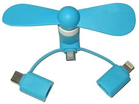 【ランダム2個入り】USB 扇風機 Mini Fan USBファン ミニスマホ用携帯扇風機 スマホ用 モバイルファン スマホ扇風機 iPhone用 ミニ 扇風
