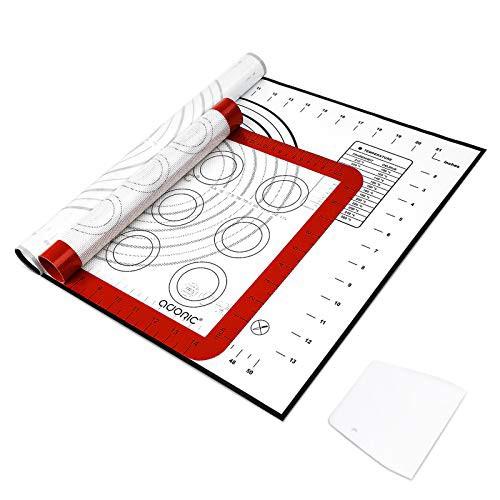 クッキングマット ベーキングマット 食品級シリコンマット ペストリーボード 2枚セット 製菓マット ノンスティック エコなクッキングマッ