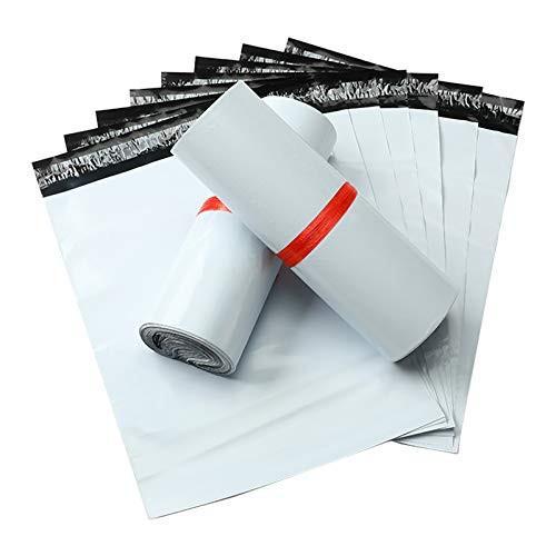 【50枚】宅配ビニール袋 LL 幅40*長さ60*フタ4cm 宅配ポリ袋 LL 梱包材 アリアケ梱包 強力テープ付き LDPE材質 厚さ60ミクロン軽量 破