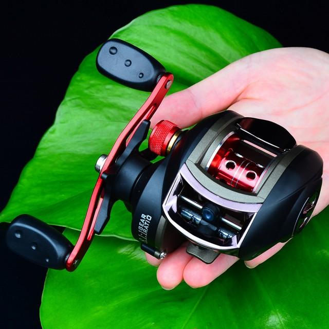 釣りリール8:1:1高速無線磁気ブレーキロープロファイルリールベイトキャスティングリール釣りラインスプール