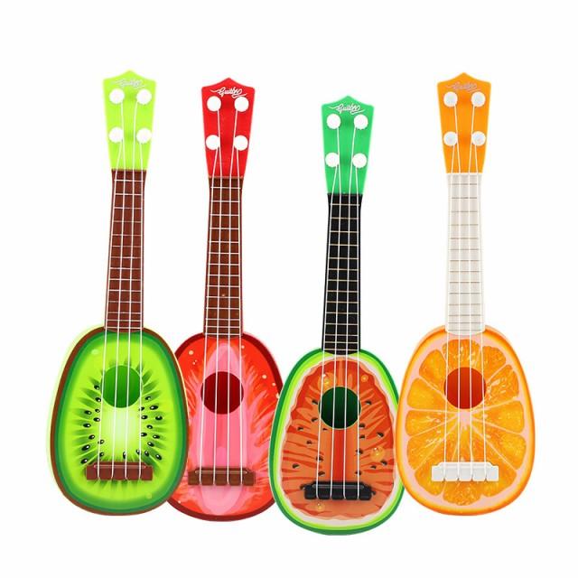 子供の子供ミニフルーツギタープラスチック教育楽器早期教育ウクレレおもちゃ
