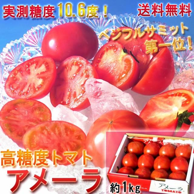 アメーラ フルーツトマト 約1kg 静岡県・長野県産 贈答品 糖度7.2度以上 高い評価を受ける味わい抜群のブランド品種!