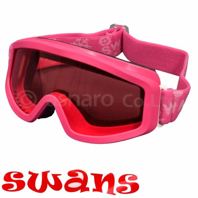 SWANS子供用スキー・スノーボード用ゴーグルピンク-ピンク