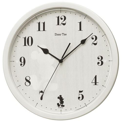 57b6f24783 SEIKO セイコー 掛け時計 ミッキーマウス アナログ ミッキー フレンズ Disney Time(ディズニータイム) アイボリー FW577A