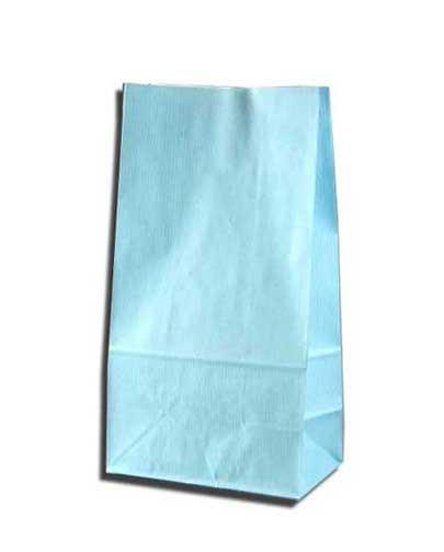 紙袋 K6 白筋無地B 柄入角底袋 50枚