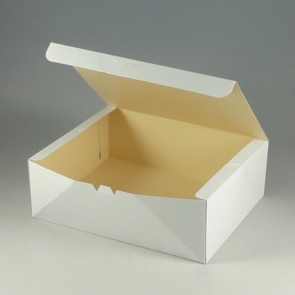 食品箱 ケーキ箱 洋生白E 50枚