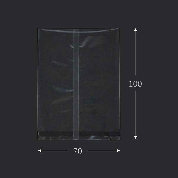 合掌平袋 GTP No.3 バラ 70×100mm 高透明・脱酸素剤対応 100枚