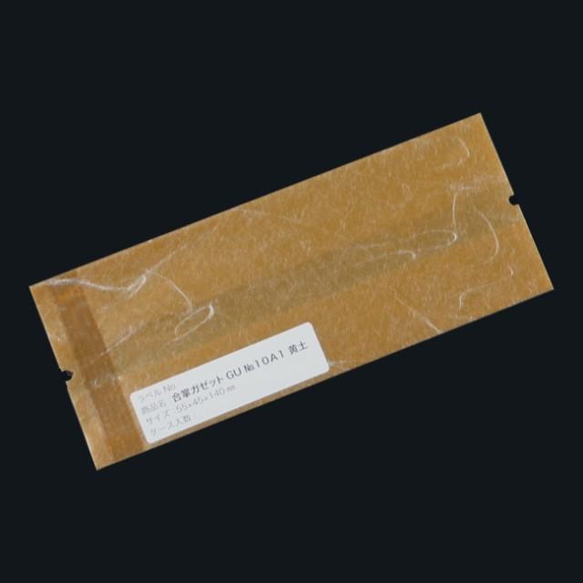 合掌ガゼット袋 GU No.10A1黄土 バラ 55×45×140 雲龍紙 500枚