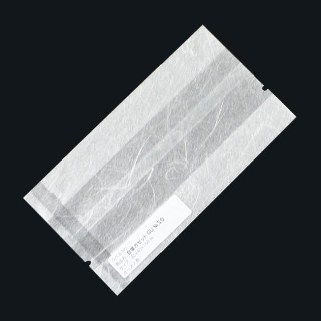 合掌ガゼット袋 GU No.30 バラ 80×40×150 ホワイト 雲龍紙 300枚