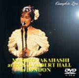 【DVD】MARIKO TAKAHASHI at ROYAL ALBERT HALL in LONDON COMPLETE LIVE/高橋真梨子 [VIBL-258] タカハシ マリコ
