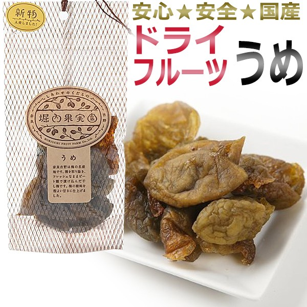堀内果実園 ドライフルーツ うめ 60g / 美容食 ダイエットサポート食品 / T001