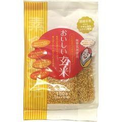 素食生活 おいしい玄米 スティックタイプ(15g*10袋入)(発送可能時期:1週間-10日(通常))[雑穀]