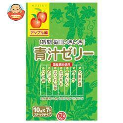 送料無料 【2ケースセット】 新日配薬品 青汁ゼリー 10g×7包×10袋入×(2ケース)