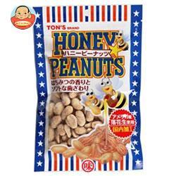 送料無料 【2ケースセット】東洋ナッツ食品トンハニーピーナッツ110g×10袋入×(2ケース)