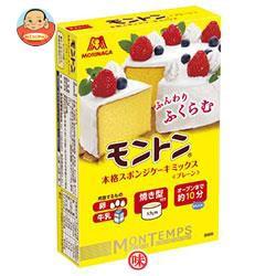 送料無料 【2ケースセット】 森永製菓 モントン スポンジケーキミックス プレーン 173g×24(6×4)箱入×(2ケース)