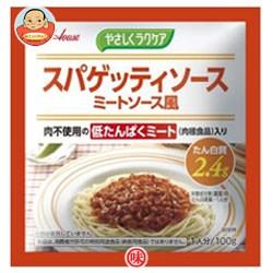 送料無料 ハウス食品 やさしくラクケア スパゲッティミートソース風 (低たんぱくミート入り) 100g×40個入