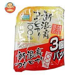送料無料 【2ケースセット】 たかの 新潟産こしひかり 3個パック (180g×3個)×4個入×(2ケース)