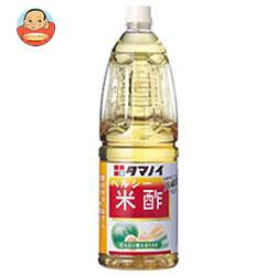 送料無料 【2ケースセット】 タマノイ ヘルシー米酢 1.8Lペットボトル×6本入×(2ケース)
