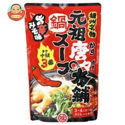 送料無料 【2ケースセット】 田靡製麺 元祖唐々本舗鍋の素 辛さ3番 750g×10袋入×(2ケース)
