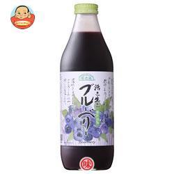 送料無料 マルカイ 順造選 活き生きブルーベリー(50%) 1000ml瓶×12(6×2)本入