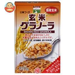 送料無料 三育フーズ 玄米グラノーラ 320g×12個入