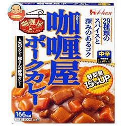 送料無料 【2ケースセット】 ハウス食品 カリー屋ポークカレー 中辛 200g×30個入×(2ケース)