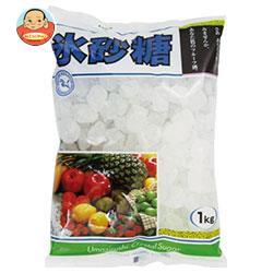 送料無料 【2ケースセット】 中日本氷糖 馬印 氷砂糖クリスタル 1kg×10袋入×(2ケース)