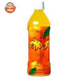送料無料 富永貿易 フェリーチェ ごくごくオレンジ 500mlペットボトル×24本入