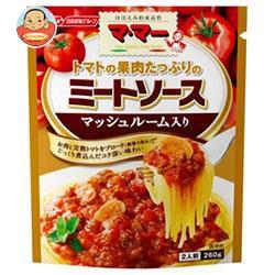 マ・マー トマトの果肉たっぷりのミートソース マッシュルーム入り 6袋