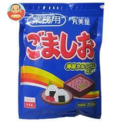 送料無料 丸美屋 ごましお(業務用) 250g×1袋入