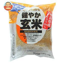 送料無料 越後製菓 健やか玄米 700g(140g×5袋)×10袋入