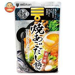 送料無料 【2ケースセット】 ミツカン 焼あごだし鍋つゆ ストレ−ト 750g×12袋入×(2ケース)