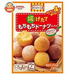 送料無料 【2ケースセット】昭和産業(SHOWA)揚げたてもちもちドーナツミックス(110g×2袋)×6箱入×(2ケース)