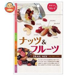 送料無料 共立食品 ナッツ&フルーツ (トレイルミックス) 55g×10袋入