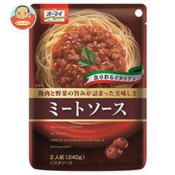 送料無料 日本製粉 オーマイ ミートソース 240g×24個入
