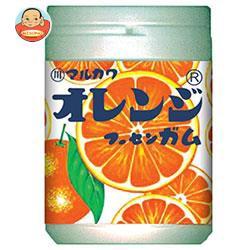 送料無料 【2ケースセット】 丸川製菓 オレンジマーブルガムボトル 130g×6個入×(2ケース)